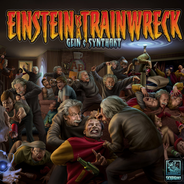 GEIN/EAST KINGDOM/SYNTHAKT/DJ HIDDEN/KATHARSYS - Einstein Is A Trainwreck EP