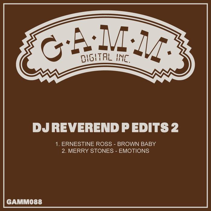 DJ REVEREND P - DJ Reverend P Edits 2