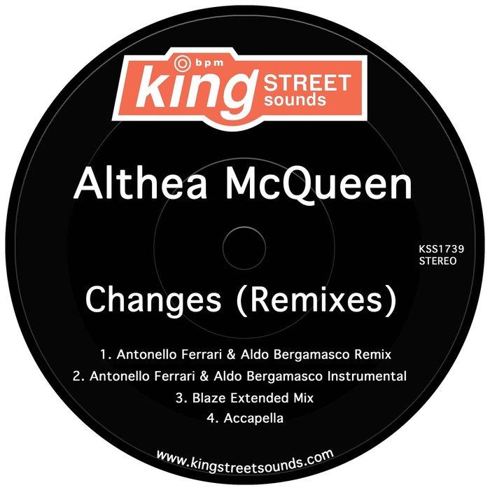 ALTHEA MCQUEEN - Changes (Remixes)