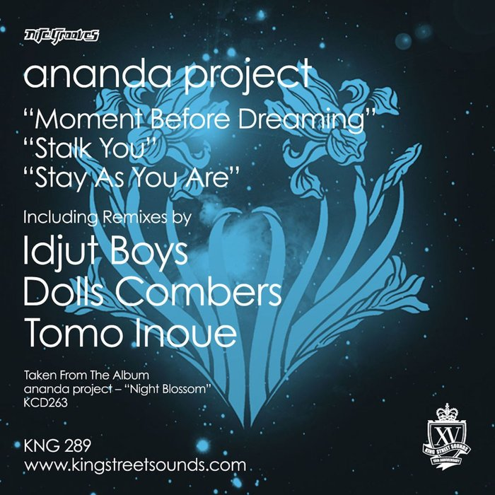 ANANDA PROJECT - Moment Before Dreaming/Stalk You/Stay As You Are