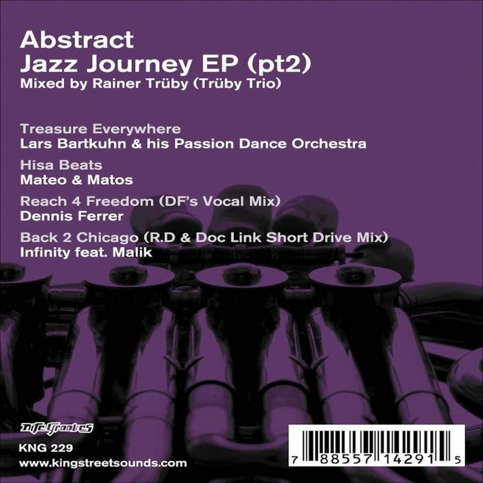 LARS BARTKUHN & PASSION DANCE ORCHESTRA/MATEO & MATOS/DENNIS FERRER/INFINITY - Abstract Jazz Journey EP 2