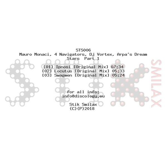 MAURO MONACI/4 NAVIGATORS/DJ VORTEX - Stars Part 1