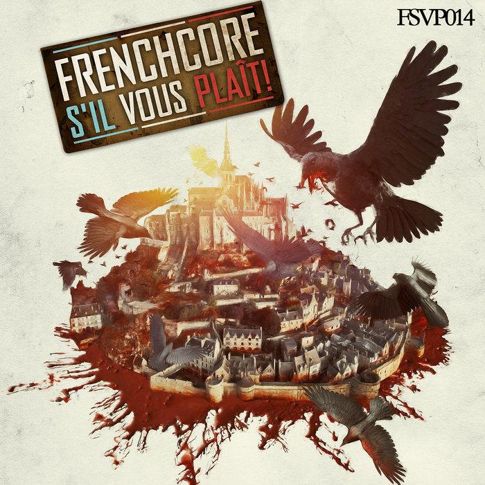 DIGITAL VIOLENCE & CYCLON/CHRONO & DEATHROAR/CHEM D - Frenchcore S'il Vous Plait Records 014