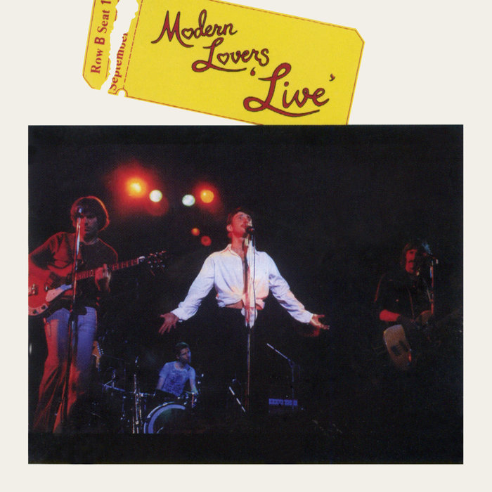 THE MODERN LOVERS - Modern Lovers (Live)