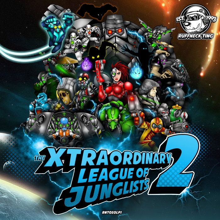 VARIOUS - The Xtraordinary League Of Junglists 2 (Level 1)