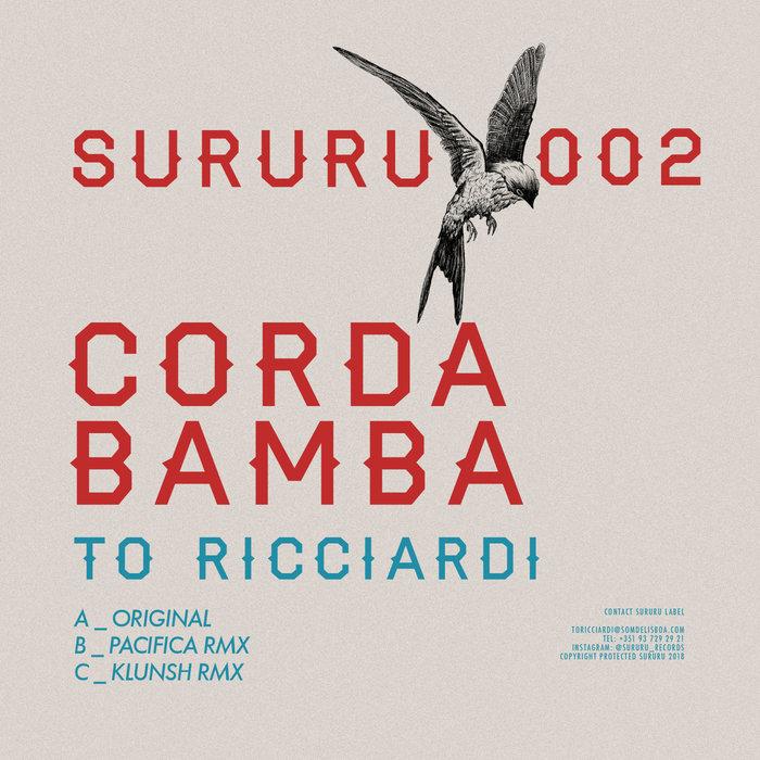 TO RICCIARDI - Corda Bamba