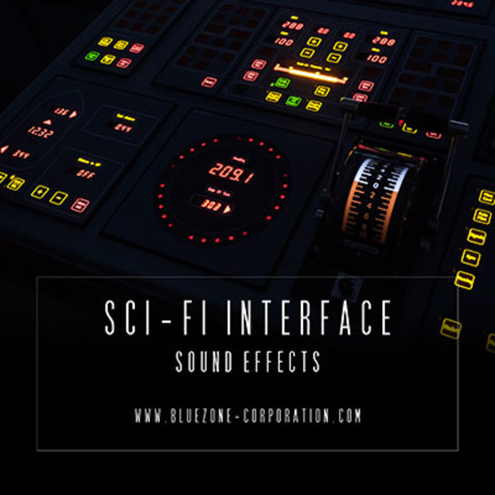 BLUEZONE CORPORATION - Sci Fi Interface Sound Effects (Sample Pack WAV)