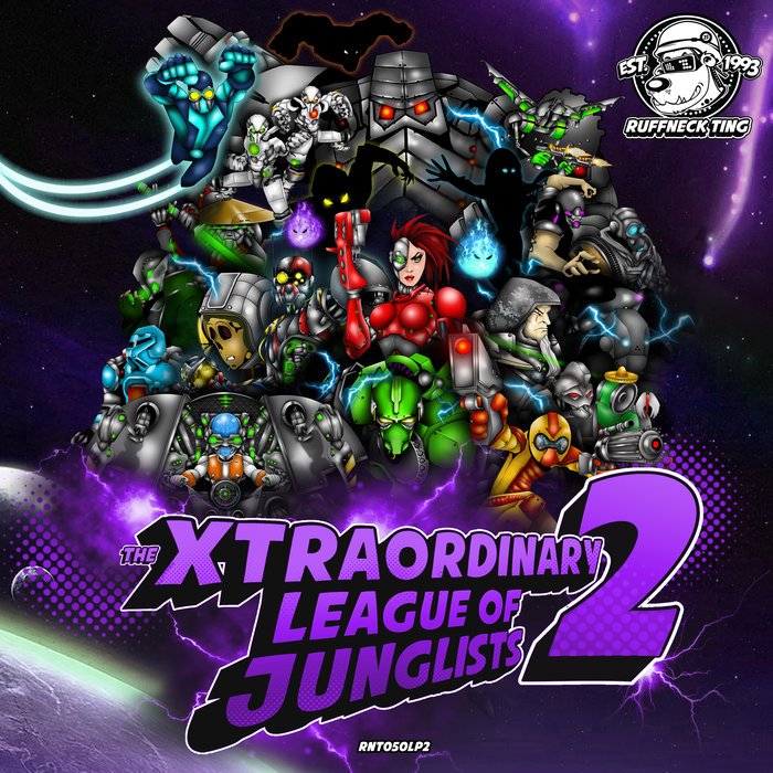 VARIOUS - The Xtraordinary League Of Junglists 2 (Level 2)