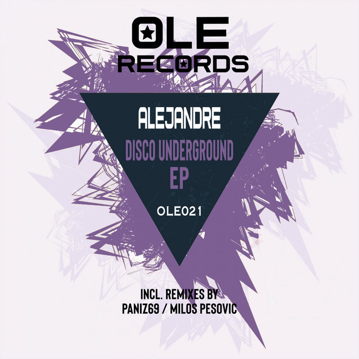 ALEJANDRE - Disco Underground EP