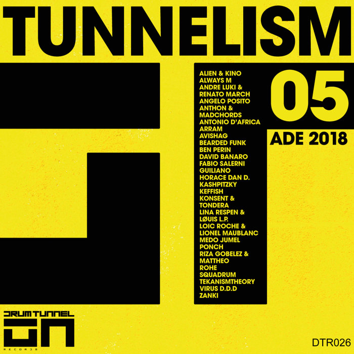 VARIOUS - Tunnelism 05 ADE 2018