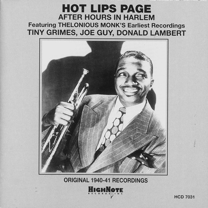 HOT LIPS PAGE - After Hours In Harlem (Recorded Live In New York, 1940-41)