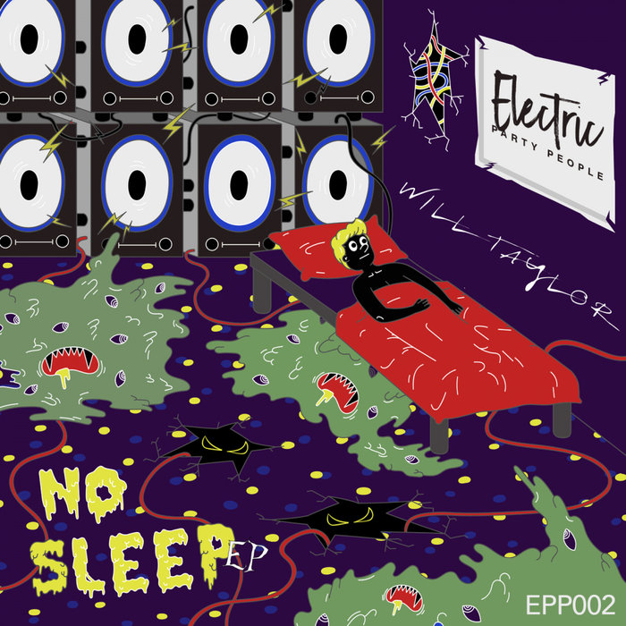WILL TAYLOR (UK) - No Sleep EP