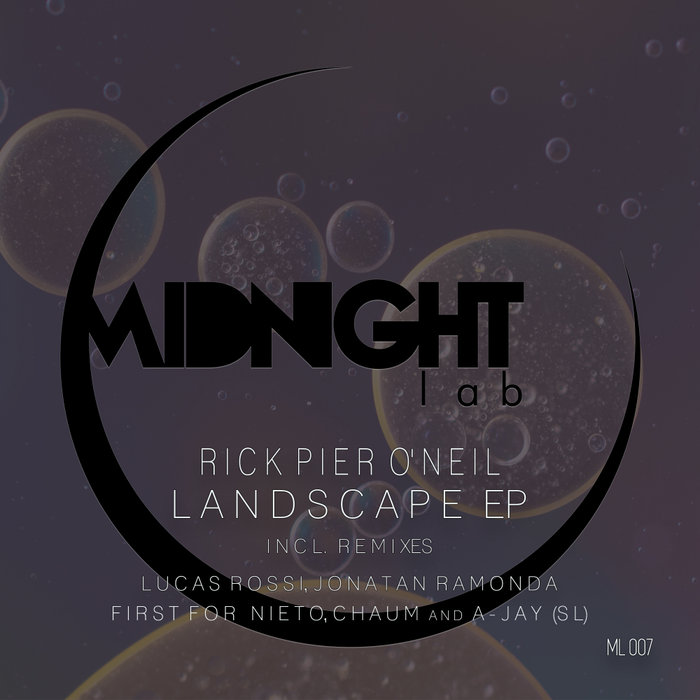 RICK PIER O'NEIL - Landscape EP