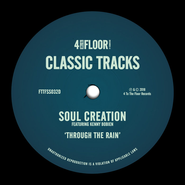 SOUL CREATION feat KENNY BOBIEN - Through The Rain