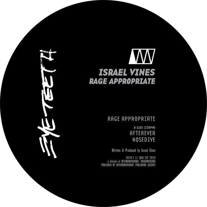 ISRAEL VINES - Rage Appropriate