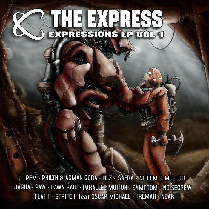 VARIOUS - The Express: Expressions LP Vol #1