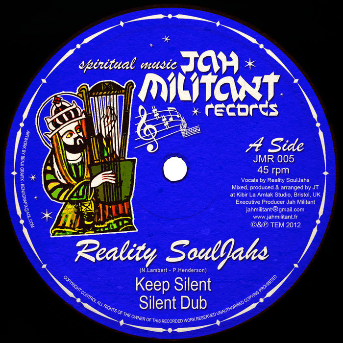 REALITY SOULJAHS/KIBIR LA AMLAK - Keep Silent
