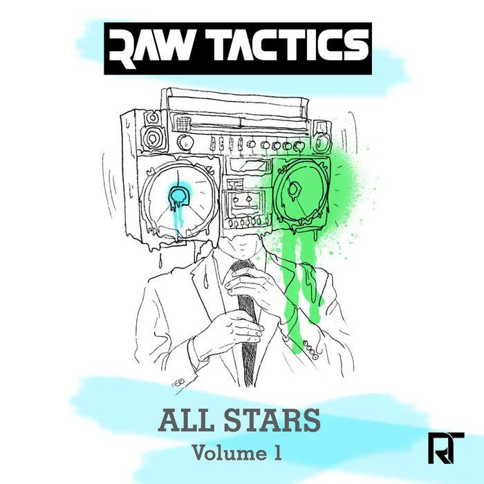 JIMMY LE MAC/TIGS/FORK AND KNIFE/ZEMON - Raw Tactics Allstars Vol 1