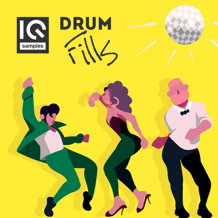 IQ SAMPLES - IQ Drum Fills (Sample Pack WAV)
