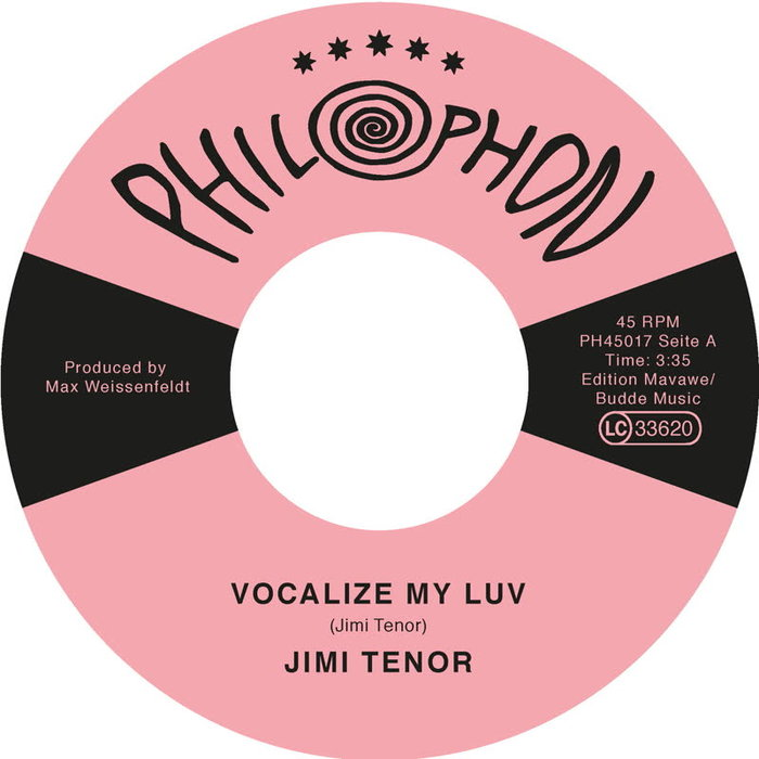 JIMI TENOR - Vocalize My Luv
