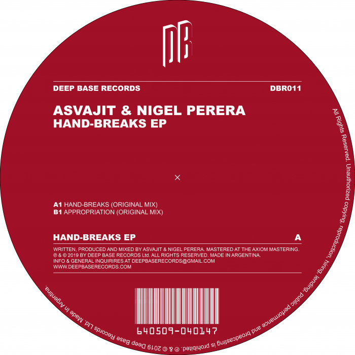 ASVAJIT/NIGEL PERERA - Hand-Breaks