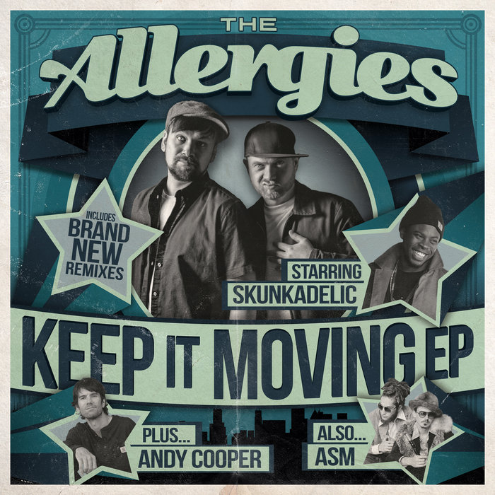 THE ALLERGIES - Keep It Moving EP