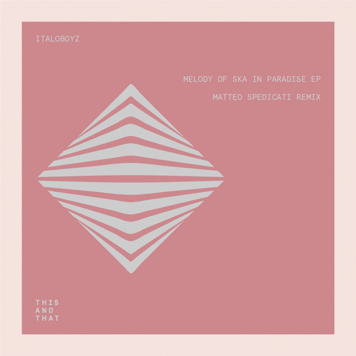 ITALOBOYZ/BLIND MINDED/PAOLO BORGHI/DURANT - Melody Of Ska In Paradise EP