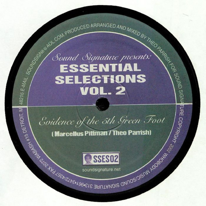 THEO PARRISH/MARCELLUS PITTMAN - Essential Selections Volume 2