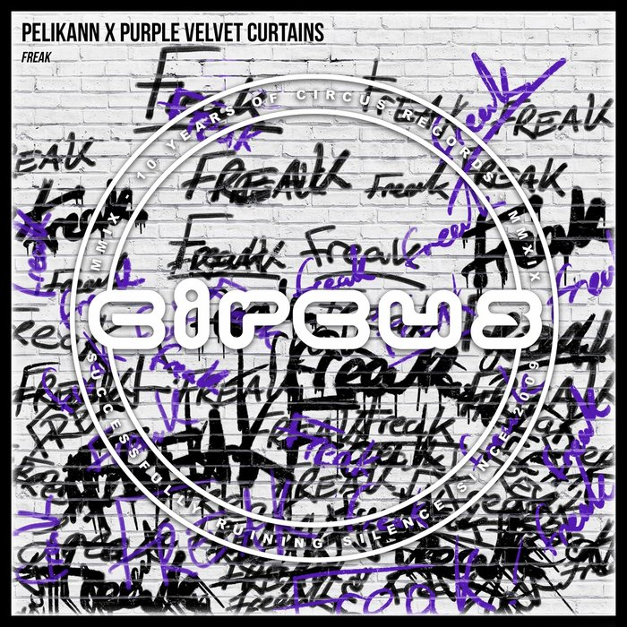 PELIKANN X PURPLE VELVET CURTAINS - Freak