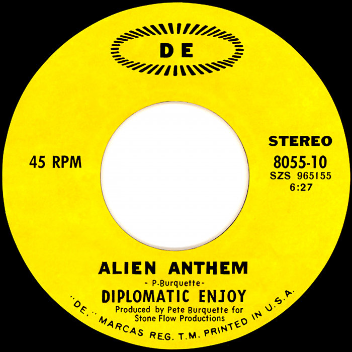 DIPLOMATIC ENJOY - Alien Anthem