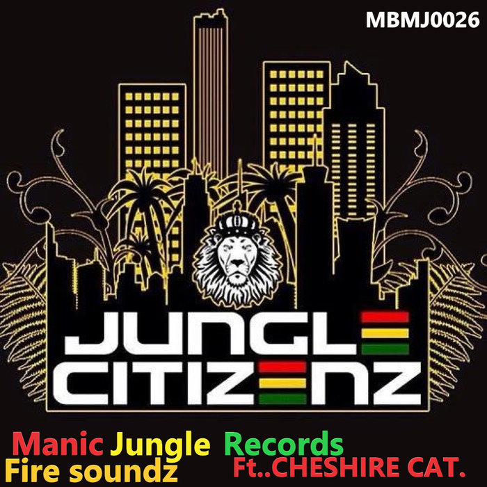 JUNGLE CITIZENZ feat CHESIRE CAT - Fire Sound