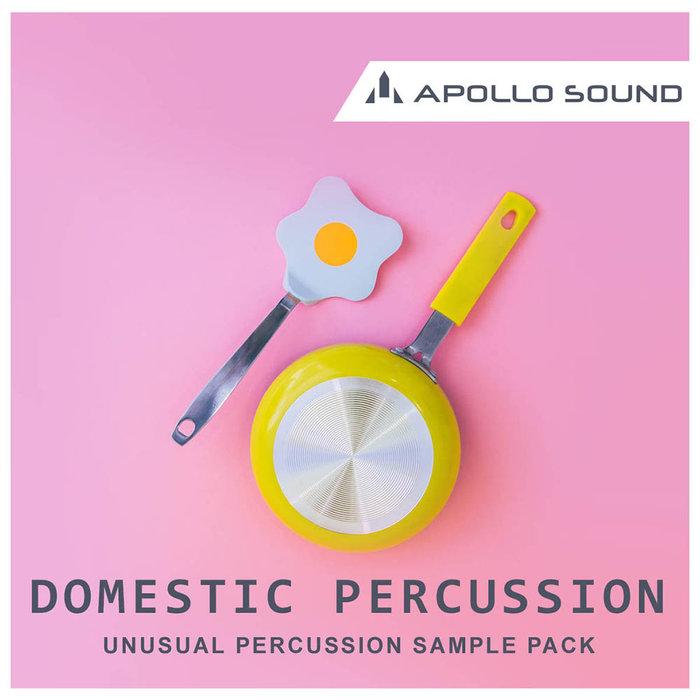 APOLLO SOUND - Domestic Percussion (Sample Pack WAV/APPLE)