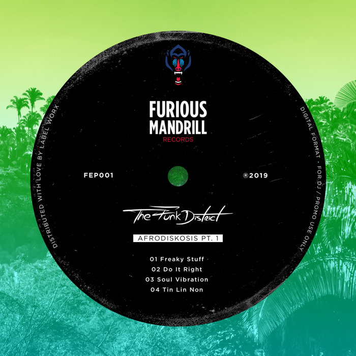 THE FUNK DISTRICT - Afrodiskosis Pt 1