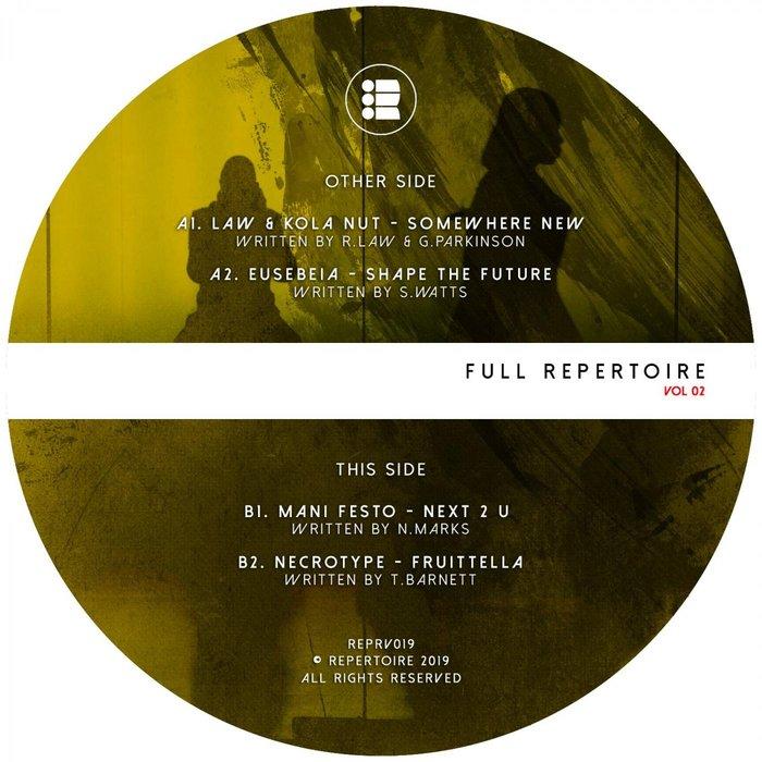 LAW/EUSEBEIA/MANI FESTO/NECROTYPE/DAVID LOUIS - Full Repertoire Volume 2