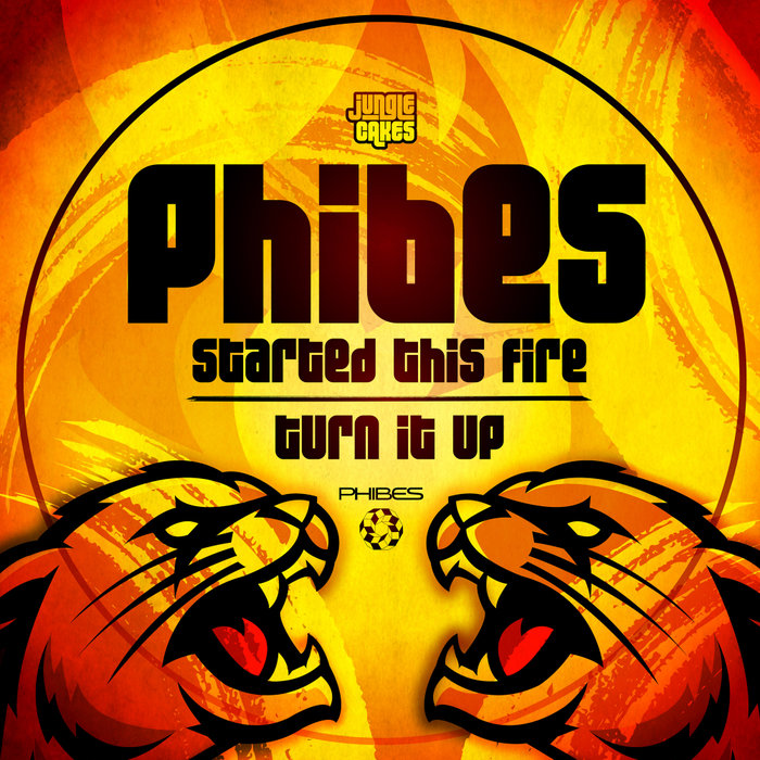 PHIBES - Started This Fire/Turn It Up