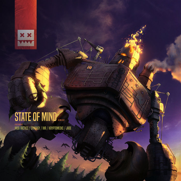STATE OF MIND feat IHR/MOB TACTICS/SYNERGY/KRYPTOMEDIC AND JADE - State Of Mind Remixed