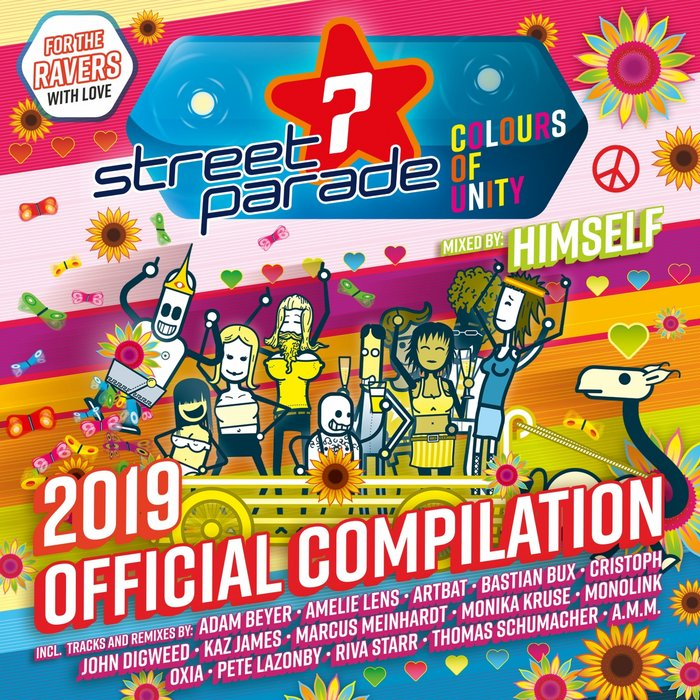 VARIOUS/HIMSELF - Street Parade 2019 Official Compilation (Colours Of Unity)