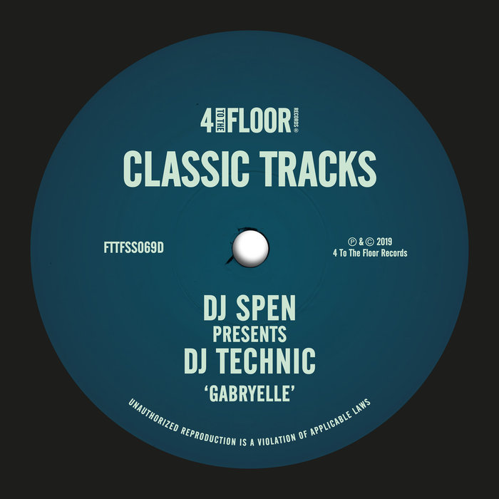 DJ SPEN/DJ TECHNIC - Gabryelle