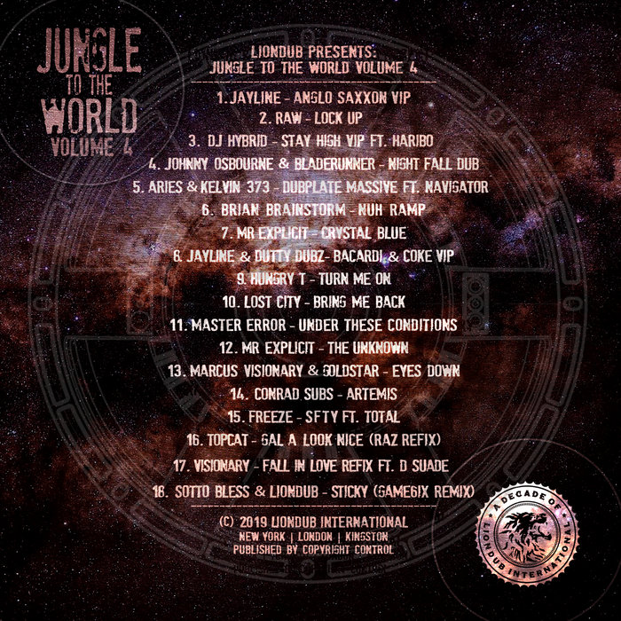 VARIOUS - Liondub Presents: Jungle To The World Volume 4