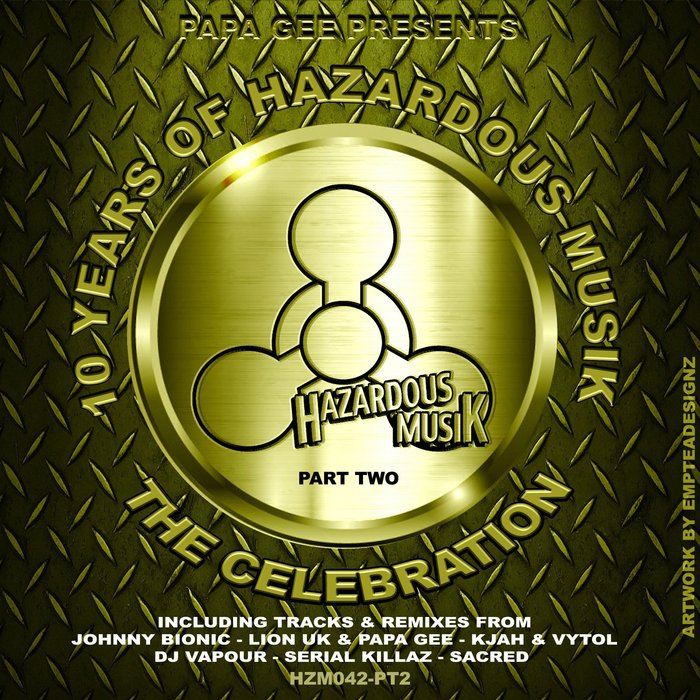 JAMIE G/PAPA G/JOHNNY BIONIC/K JAH/VYTOL/LIONUK/SACRED - 10 Years Of Hazardous Musik - The Celebration Pt 2