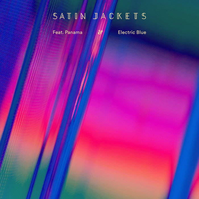 SATIN JACKETS & PANAMA - Electric Blue
