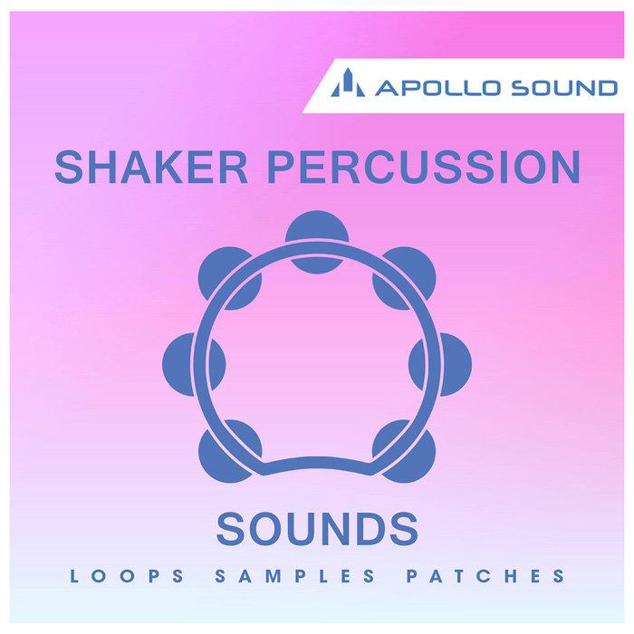 APOLLO SOUND - Shaker Percussion Sounds (Sample Pack WAV/APPLE/REASON)