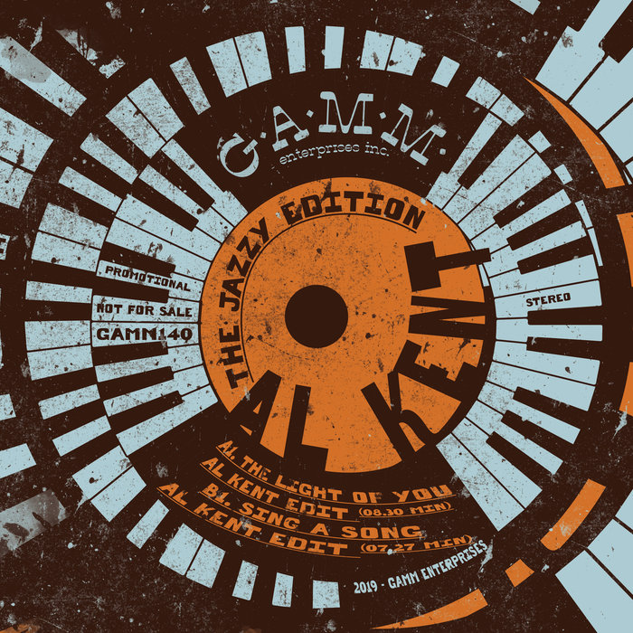 AL KENT - The Jazzy Edition