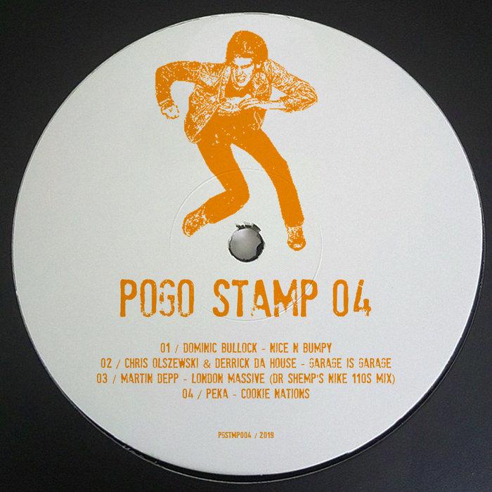 DOMINIC BULLOCK/CHRIS OLSZEWSKI/DERRICK DA HOUSE/MARTIN DEPP/PEKA - Pogo Stamp 04