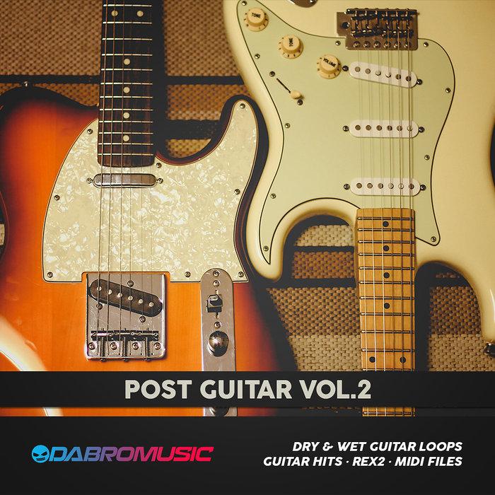 DABRO MUSIC - Post Guitar Vol 2 (Sample Pack WAV/APPLE)
