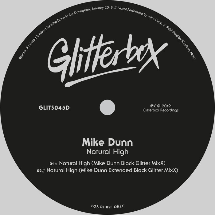 MIKE DUNN - Natural High (Mike Dunn Black Glitter Mix)