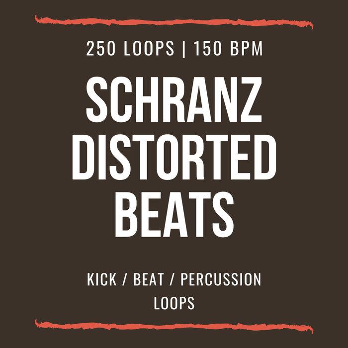 SCHRANZ SAMPLES - Schranz Distorted Beats Loops (Sample Pack WAV)