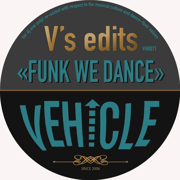 VA – Funk We Dance [Vehicle]