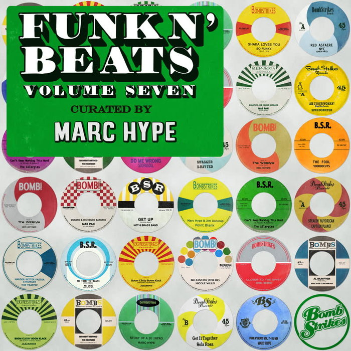 MARC HYPE/VARIOUS - Funk N' Beats Vol 7 (unmixed tracks)
