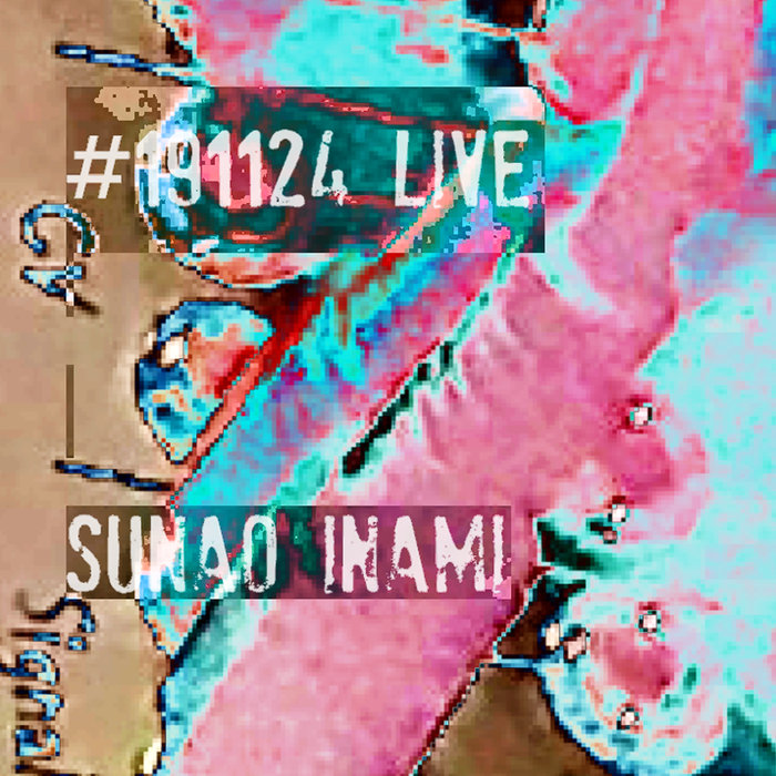 SUNAO INAMI - #191124 (Live At Rudiez Cafe, Kobe)